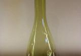 Flaschenvase in grün