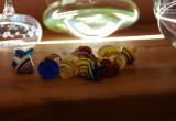 Kreisel aus Glas